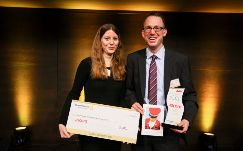 Commerzbank Schweiz swiss treasury of the year Preisträger